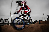 #11 (FIELDS Connor) USA at the 2014 UCI BMX Supercross World Cup in Santiago Del Estero, Argentina.