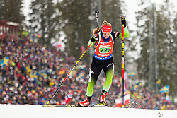 March 16, 2019 - –Stersund, Sweden - 190316 Polona Klemencic of Slovenia competes in the Women's 4x6 km Relay during the IBU World Championships Biathlon on March 16, 2019 in Östersund..Photo: Johan Axelsson / BILDBYRÃ…N / Cop 245 (Credit Image: © Johan Axelsson/Bildbyran via ZUMA Press)