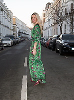 Leila Russack aka Miss Zagato does easy glam in BSB Collection green dress and Valentino Rockstud heels. photo by Terry Scott