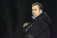 Chesterfield's Manager Lee Richardson <br /> Aldershot vs Chesterfield at The Recreation Ground Aldershot<br /> Coca-Cola Football League Two  31/03/2009.<br /> Credit Colorsport / Shaun Boggust