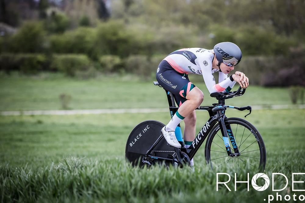 Micha Bredewold (NED/Parkhotel Valkenburg)<br /> <br /> Ceratizit Festival Elsy Jacobs (LUX) 2021<br /> UCI Women Elite 2.1<br /> Day 1 - prologue : Individual Time Trial (ITT) – Cessange (LUX) 2.2km <br /> <br /> ©RhodePhoto