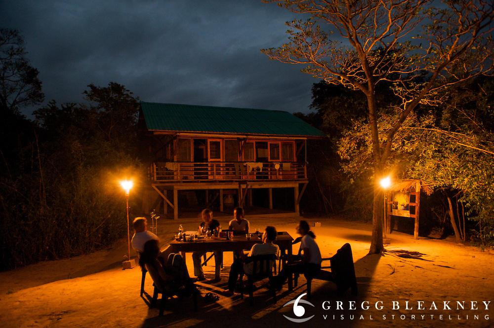 The guest house at la Reserva Natural Bojonawi - Orinoco River Basin - Colombia - South America