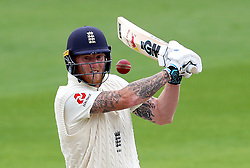 File photo dated 20-07-2020 of England''s Ben Stokes. Ben Stokes has given cricket fans cause for optimism, posting pictures of himself gripping a bat properly for the first time in six months. Issue date: Monday October 11, 2021.