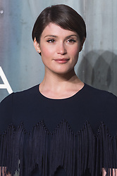 © Licensed to London News Pictures. 26/04/2017. London, GEMMA ARTERTON attends the Omega party celebrating 60 Years of the Speedmaster watch. Photo credit: Ray Tang/LNP