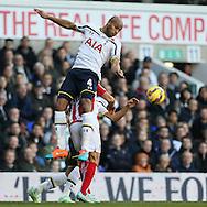 Tottenham's Younes Kaboul in action<br /> <br /> - Barclays Premier League - Tottenham Hotspur vs Stoke City- White Hart Lane - London - England - 9th November 2014  - Picture David Klein/Sportimage