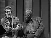 BB King at Olympic Studios London -  with Roger Daltrey 2005