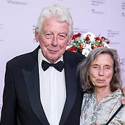 NLD/Amsterdam/20150908 - Inloop Gala 2015 - Nationaal Ballet, Wim Kok en partner Rita Roukema