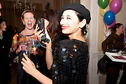 HANNAH BHUIYA, Kate Reardon and Michael Roberts host a party to celebrate the launch of Vanity Fair on Couture. The Ballroom, Moet Hennessy, 13 Grosvenor Crescent. London. 27 October 2010. -DO NOT ARCHIVE-© Copyright Photograph by Dafydd Jones. 248 Clapham Rd. London SW9 0PZ. Tel 0207 820 0771. www.dafjones.com.