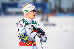 November 24, 2018 - Ruka, FINLAND - 181124 Maja Dahlqvist of Sweden after competing in a women's sprint classic technique quarterfinal during the FIS Cross-Country World Cup premiere on November 24, 2018 in Ruka  (Credit Image: © Carl Sandin/Bildbyran via ZUMA Press)