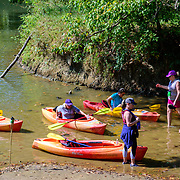 Canoeing on the Hocking River