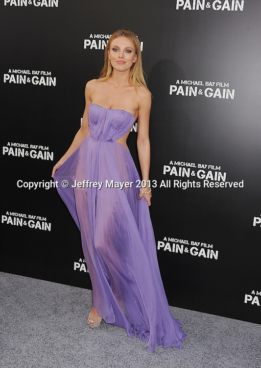 HOLLYWOOD, CA- APRIL 21: Actress Bar Paly attends the 'Pain & Gain' premiere held at TCL Chinese Theatre on April 22, 2013 in Hollywood, California.