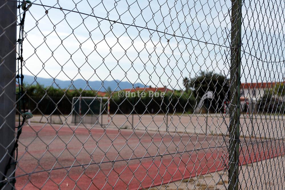 neighborhood residential sports field