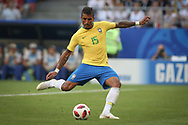 Paulinho of Brazil during the 2018 FIFA World Cup Russia, round of 16 football match between Brazil and Mexico on July 2, 2018 at Samara Arena in Samara, Russia - Photo Thiago Bernardes / FramePhoto / ProSportsImages / DPPI