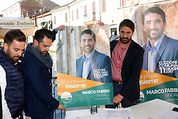 DA SX STEFANO PARMIANI DENIS FANTINUOLI MARCO FABBRI<br /> PRESENTAZIONE LISTA MARCO FABBRI SINDACO