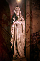 """The glow of the Madonna in the New Church of St. Francis of Assisi""…<br />
