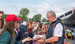 02.07.2016, Red Bull Ring, Spielberg, AUT, FIA, Formel 1, Roter Teppich, im Bild Dr. Helmut Marko (AUT) Red Bull Racing // Red Bull Racing Motorsport Consultant Dr. Helmut Marko (AUT) during the red carpet of at the Red Bull Ring in Spielberg, Austria, 2016/07/02, EXPA Pictures © 2016, PhotoCredit: EXPA/ Dominik Angerer