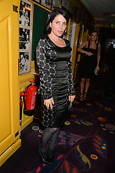 SADIE FROST at a dinner to celebrate the launch of Genetic - Liberty Ross hosted by Liberty Ross and Ali Fatourechi at Annabel's, 44 Berkeley Square, London on 3rd September 2014.