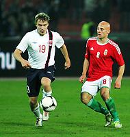 Fotball 14. november 2012 , Ungarn - Norge 0-2 <br />    Ruben Yttergård Jenssen<br /> Jozsef Varga(r) Hungary <br /> Norway only