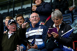 Bristol Rugby fans - Mandatory by-line: Robbie Stephenson/JMP - 18/05/2016 - RUGBY - Castle Park - Doncaster, England - Doncaster Knights v Bristol Rugby - Greene King IPA Championship Play-off Final - First leg