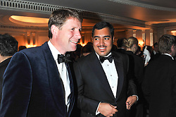 Left to right, DAVID REDVERS and SHEIKH FAHAD AL THANI at the 22nd Cartier Racing Awards held at The Dorchester, Park Lane, London on 13th November 2012.