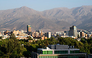 View over the city Santiago de Chile, capital of Chile