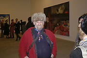 Richard Niman, Dexter Dalwood, Gagosian Gallery. 14 December 2006. ONE TIME USE ONLY - DO NOT ARCHIVE  © Copyright Photograph by Dafydd Jones 248 CLAPHAM PARK RD. LONDON SW90PZ.  Tel 020 7733 0108 www.dafjones.com