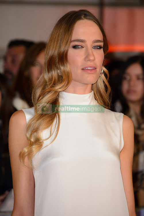 November 3, 2016 - London, United Kingdom - Image ©Licensed to i-Images Picture Agency. 03/11/2016. London, United Kingdom. Ruta Gedmintas attends the World Premiere of A Street Cat Named Bob. Picture by Chris Joseph / i-Images (Credit Image: © Chris Joseph/i-Images via ZUMA Wire)