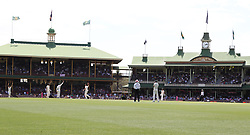 Australia's Josh Hazelwood celebrates the last wicket of England's James Anderson during day five of the Ashes Test match at Sydney Cricket Ground.