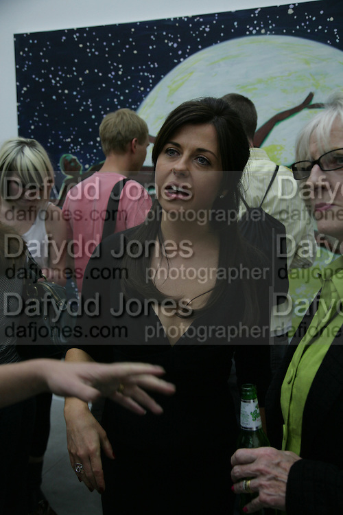 ALISON JACQUES, private view  of new exhibition by Tim Stoner , Alison Jacques Gallery in new premises in Berners St., London, W1 ,Afterwards across the rd. at the Sanderson Hotel. 3 May 2007. DO NOT ARCHIVE-© Copyright Photograph by Dafydd Jones. 248 Clapham Rd. London SW9 0PZ. Tel 0207 820 0771. www.dafjones.com.