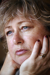 Portrait of a middle aged woman,