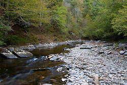 08 October 2016:  Little River,  Great Smoky Mountain National Park.