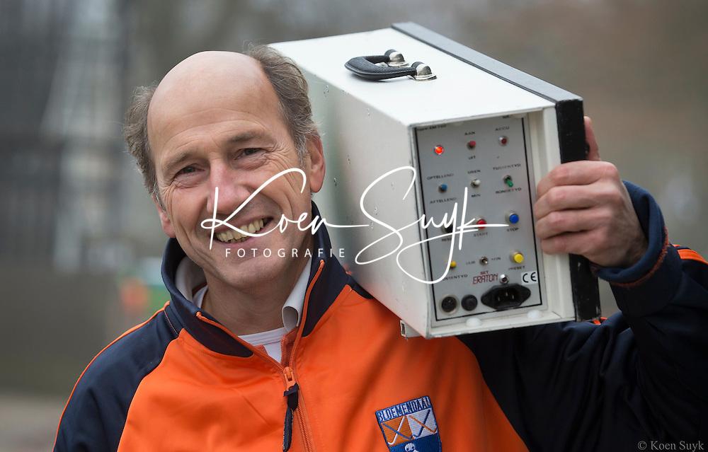 BLOEMENDAAL -  Lex van Hooijdonk, manager HC Bloemendaal Heren I. COPYRIGHT KOEN SUYK