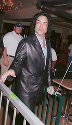 Feb 11, 2002; Los Angeles, CA, USA; Singer PAUL STANLEY from the band Kiss, leaving Sheryl Crow's birthday party and concert held @ the El Rey theater in LA..  (Credit Image: David Keeler/ZUMAPRESS.com)