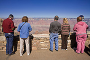 Oct. 6, 2008 -- GRAND CANYON NATIONAL PARK: Tourists take pictures along the south rim of the Grand Canyon National Park in northern Arizona. Photo by Jack Kurtz