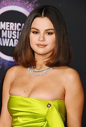 2019 American Music Awards at Microsoft Theater on November 24, 2019 in Los Angeles, California. 24 Nov 2019 Pictured: Selena Gomez. Photo credit: Jeffrey Mayer/JTMPhotos, Int'l. / MEGA TheMegaAgency.com +1 888 505 6342