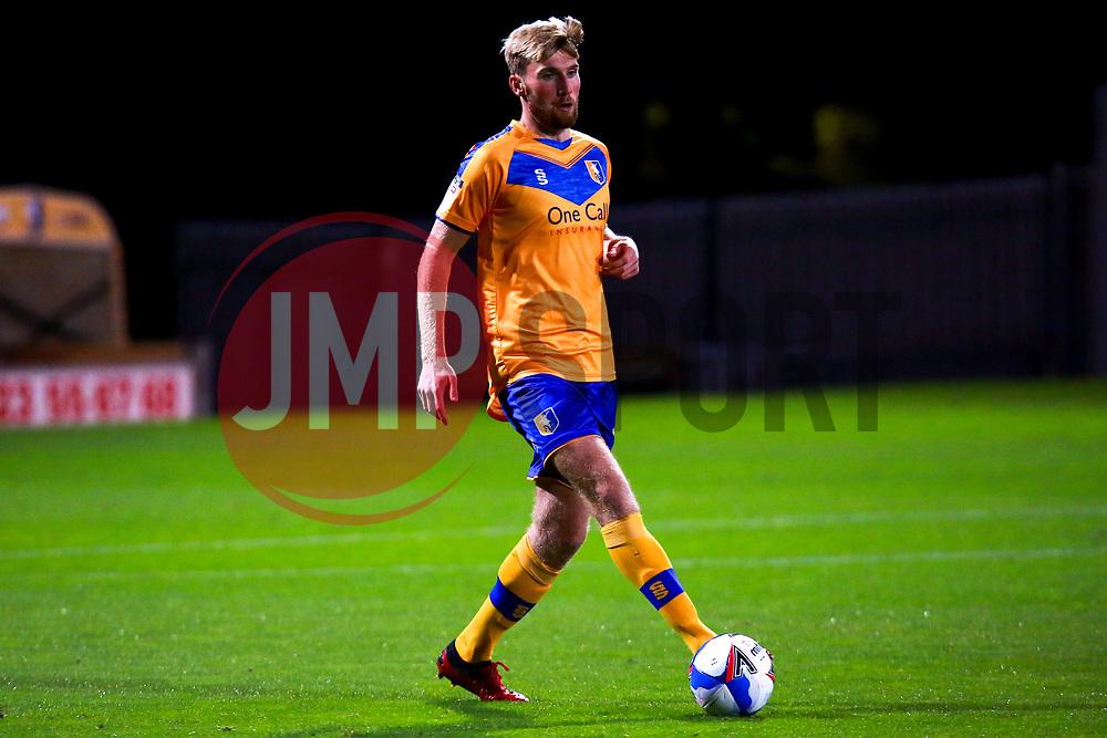 Aaron O'Driscoll of Mansfield Town - Mandatory by-line: Ryan Crockett/JMP - 06/10/2020 - FOOTBALL - One Call Stadium - Mansfield, England - Mansfield Town v Lincoln City - Leasing.com Trophy