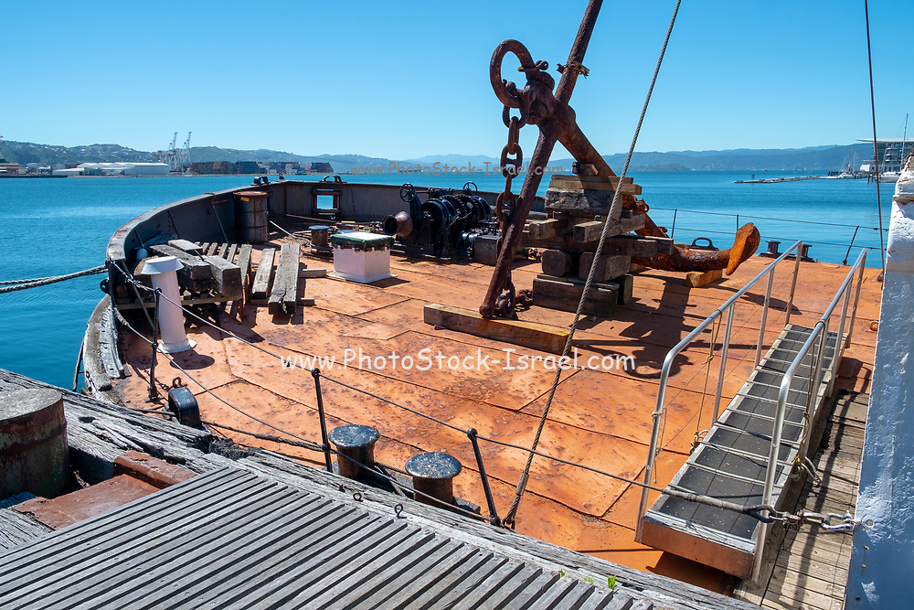 Hikitia is a working self-propelled floating steam crane in Wellington, New Zealand. She is thought to be the only working steam crane of her type in the world.