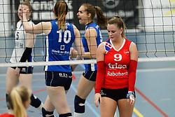 20170430 NED: Eredivisie, VC Sneek - Sliedrecht Sport: Sneek<br />Nienke Tromp (9) of VC Sneek <br />©2017-FotoHoogendoorn.nl / Pim Waslander