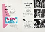 All Ireland Senior Hurling Championship Final,.Senior Kilkenny v Tipperary,.Minor Cork v Wexford,.Kilkenny 3-08, Tipperary 2-07,.03091967AISHCF,  03.09.1967, 09.03.1967, 3rd September 1967,