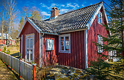 Cottage in the southern province of Blekinge in Sweden, near Kyrkhult.