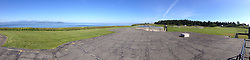 Bunkers (Panorama), Fort Casey State Park, Whidbey Island, Washington, US
