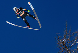 Sebastian Colloredo (ITA) during the Trial Round of the Ski Flying Hill Individual Competition at Day 1 of FIS Ski Jumping World Cup Final 2019, on March 21, 2019 in Planica, Slovenia. Photo by Masa Kraljic / Sportida