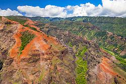 Olokele Canyon, Olokele Valley, Kauai, Hawaii, USA