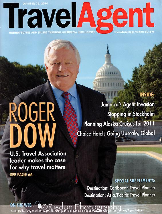 USTA President Roger Dow for Travel Agent Magazine