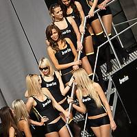 2011 MotoGP World Championship, Round 2, Jerez, Spain, 3 April 2011, Umbrella Girls