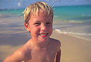 Boy on beach<br />