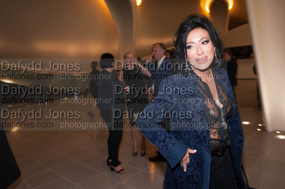 NANCY DELL D'OLIO, VIP opening  of the new Serpentine Sackler Gallery designed by Zaha Hadid . Kensinton Gdns. London. 25 September 2013