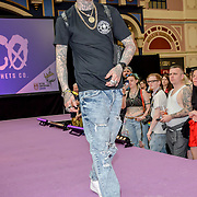 Urban Wear Fashion Show at The Great British Tattoo Show, at Alexandra Palace, on 25 May 2019, London, UK.