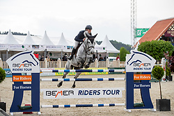 OPLATEK Andrzeij (POL), Stakkatan<br /> Hagen - Horses and Dreams 2019<br /> Preis der LVM Versicherung - CSI4* Quali. BEMER-RIDERS TOUR-Wertung - Stechen<br /> 27. April 2019<br /> © www.sportfotos-lafrentz.de/Stefan Lafrentz