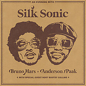 """January 2022 - WORLDWIDE: Bruno Mars and Andeson Paak """"An Evening With Silk Sonic"""" Album Release"""